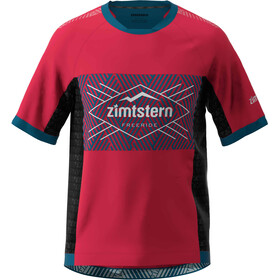 Zimtstern TechZonez Kurzarmshirt Herren jester red/french navy/glacier grey